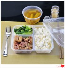 PP Microwave Disposable Plastic Food Packaging/Plastic box