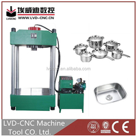 Hydraulic press for dish end, LVD-CNC sheet 60 ton hydraulic press with many outsourcing configurations
