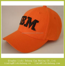 High quality custom embroider 3D logo baseball cap sales promotion cap and hat