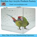 JAYI-Alibaba acrílico: jaula de pájaro - plexiglás jaula para loros