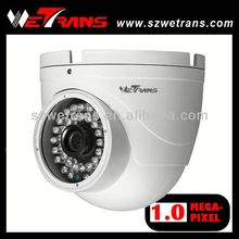 WETRANS New Product Metal IR Dome 720P IP wired camera