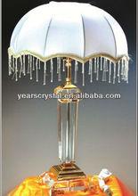 China suministro de cristal óptico de araña lámpara de escritorio para decoración de la boda( r- 2236)