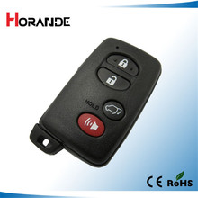 for toyota smart card cover with emergency key 3+1 button