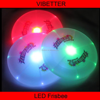 LF-01A 20cm perimeter led frisbee High quality frisbee led/ Plastic Dog frisbie/pet Frisbee