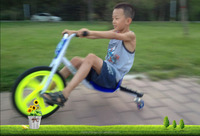 Kid drift Trike Ride-On pedal Tricycle car