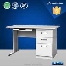 Double swing doors custom made computer desk made in China