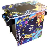 Multi Game themed Arcade Machine - 60 Retro Games, Pacman, Donkey Kong, Dig Dug