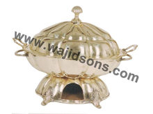 Deluxe Chafing Dishes Brass