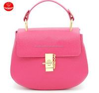 2015 Hot new summer female pig leather embossed mini handbag / MINI Handbag