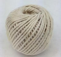 cotton twine rope ball unbleached multi