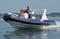 Liya 17ft fast rescue boat fiberglass dinghy inflatable dinghy