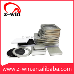 Z-WIN Prompt Goods Custom Tinplate DVD Case Metal CD Case