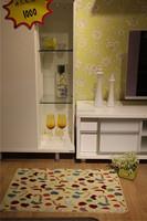 100% nylon 3d Fashion Shaggy Plain Cut/Loop Pile Carpet