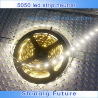 4500K neutral white 5050 LED strip waterproof