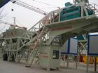 Yhzs60 móvel planta de mistura de concreto