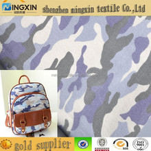 fabric textile cotton quilted 12oz cotton canvas for backpack