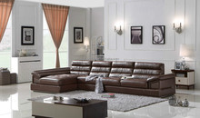 Latest Popular Design Modern Genuine Leather Sofa