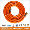 """25-Foot 1/4"""" Orange Natural Gas Flexible Hose, PVC LPG Gas Hose Pipe For Oven Parts With Male 1/4-Inch Fittings"""