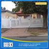 PVC white plastic trellis fence panels