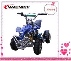 MADEMOTO CE 4 Wheeler Easy Pull Starter 49CC Mini Dirt Quad Bike 49CC Mini Kids ATV
