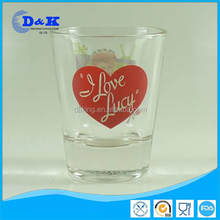 cheap price china glass cup shot