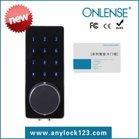 Onlense Touch screen electronic door lock rfid card lock smart card lock