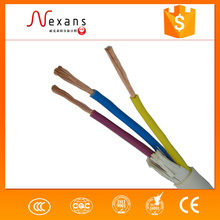 china supplier flexible electric cable 3x2.5mm