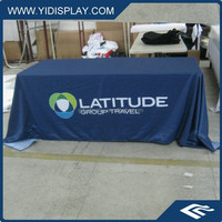 Custom sublimation Eco-friendly fabric painting designs on table cloth