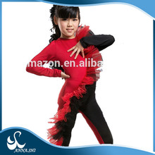 Hot sale 2015 new style Fitting Girls children stage dance costume