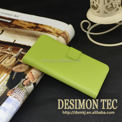 genuine leather wallet case cover for panasonic eluga 2015 china new arrive product