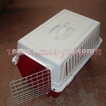 CA007 Pet Dog Cat Rabbit Airline Travel Portable Plastic Cage Carrier