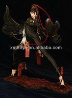 resin sex cartoon figure with gun and big wings