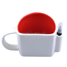 Memo ceramic mug with pen