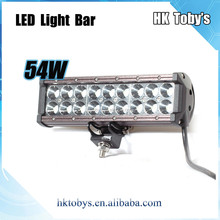 Super Bright 54W off road light bar atv led off road light 9-32v