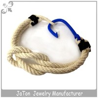 Factory Wholesale Colorful Braided Cotton Cord String Bracelet