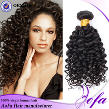 AAAAAA grade 100 human hair unprocessed Eurasian hair extensions for black women