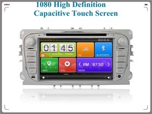 Capacitive touch screen car dvd player, car dvd gps for Ford Mondeo old GPS navigation system