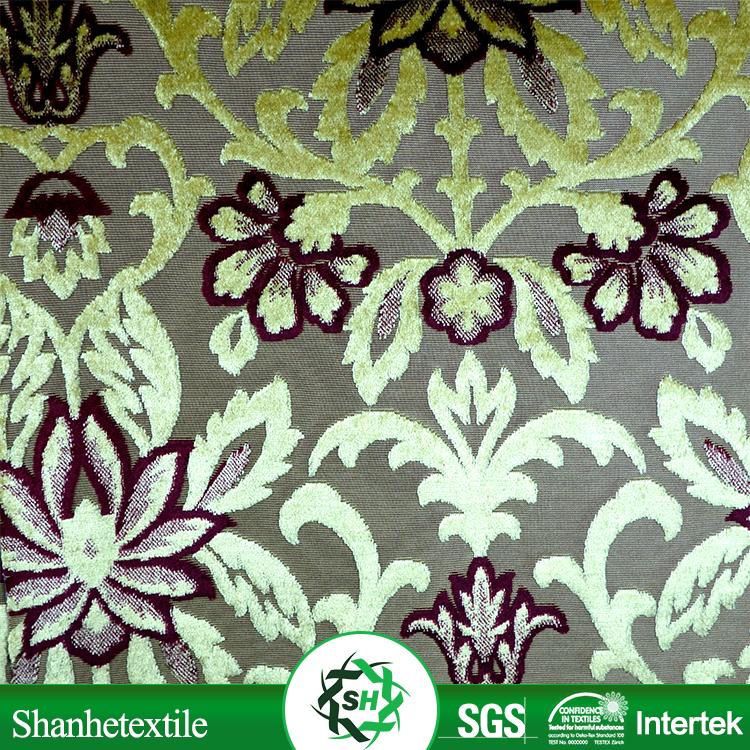 Sequin fabric wholesale chenille sofa fabric