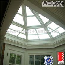 calidad de vidrio templado de techo