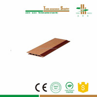 decorative wooden wood plastic composite wall fence