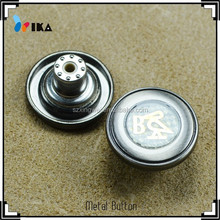 Transparent customized jeans buttons accessories