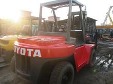Toyota fork lift truck 7 ton for sale, 7 ton forklift