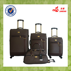 """4 pcs set 19""""23""""26"""" PVC luggage plus 18"""" duffel bag, business syle Africa and Middle East popular luggage"""
