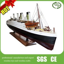 2014 Titanic ship model for sale , Titanic wooden ship model with light,wooden ship model