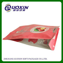 Resealable printing food grade ziplock plastic bags for wholesale