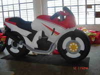 CILE 2015 Latest Large Inflatable Model Products:Inflatable Motorcycle