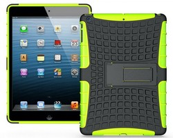 wholesale!! heavy duty 2 in 1 stand armor case with stand for ipad air case
