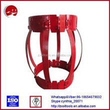 Single bow type non-welded casing centralizer