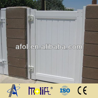 Zhejiang AFOL Strong PVC Fence Galvanized Flat Panel Fence Gates