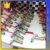 Yuhuan Brass/zinc faucet mixer automatic for water